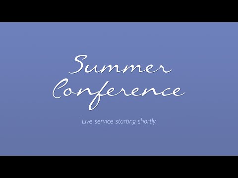 27 July 2015 7.30pm - Summer Conference - John Saunders