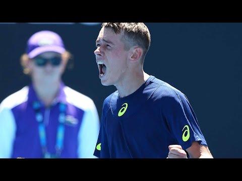 De Minaur Makes Dream Australian Open Debut 2017