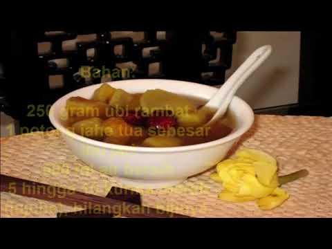Sup Ubi Rambat untuk Mengobati Kanker Serviks