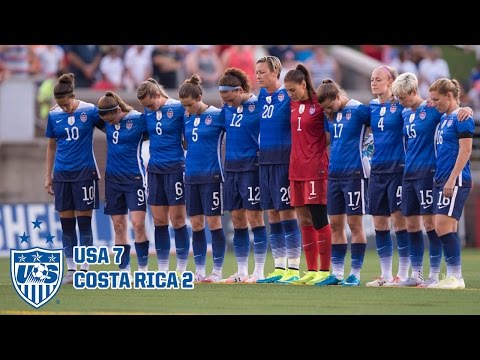WNT Vs. Costa Rica: Highlights - Aug. 19, 2015