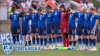 Download WNT vs. Costa Rica: Highlights - Aug. 19, 2015 Mp3 and Videos
