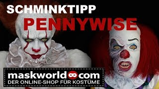 Pennywise make-up tutorial /Halloween make-up / Stephen Kings´s  IT remake 2017 /horrorclown sfx