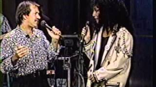 "SONNY AND CHER sing ""I GOT YOU, BABE"" on David Letterman 1980"