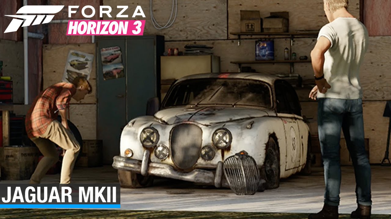 Forza Horizon 3 Jaguar Mkii Barn Find Youtube