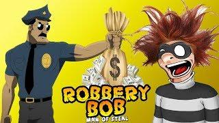 ВОРИШКА БОБ ПЕРВАЯ ЧАСТЬ ПРОДОЛЖАЕМ ПРОХОДИТЬ ИГРУ Грабитель БОБ Robbery Bob КАК ВОРИШКА 2