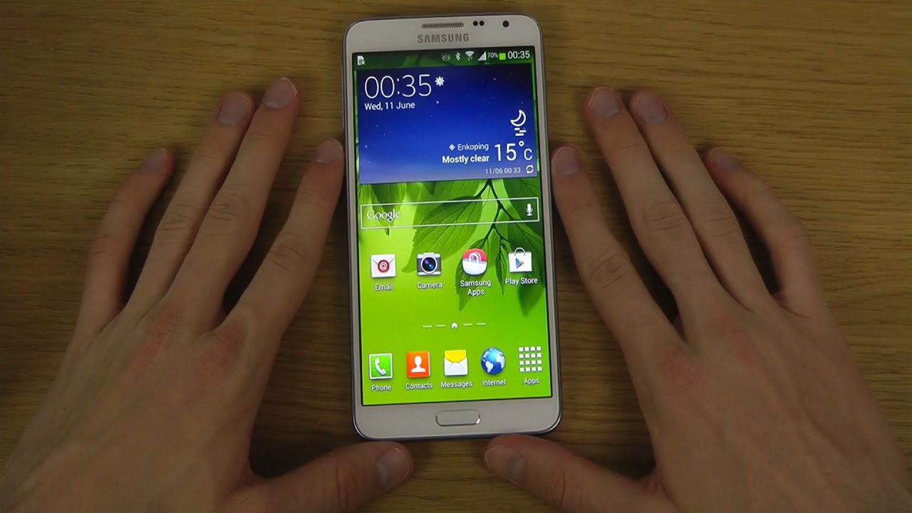 Samsung Galaxy Note 3 Neo - First Look - YouTube
