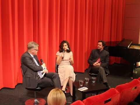 Lizi Budagashvili (13.11.2018)  Filmmuseum. Frankfurt. Germany. Creative evening