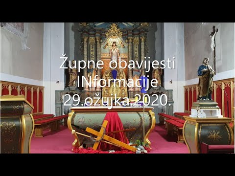 Informacije 29 3 2020 Youtube