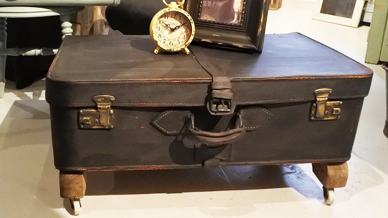diy soffbord av en gammal koffert diy coffee table from an old trunk