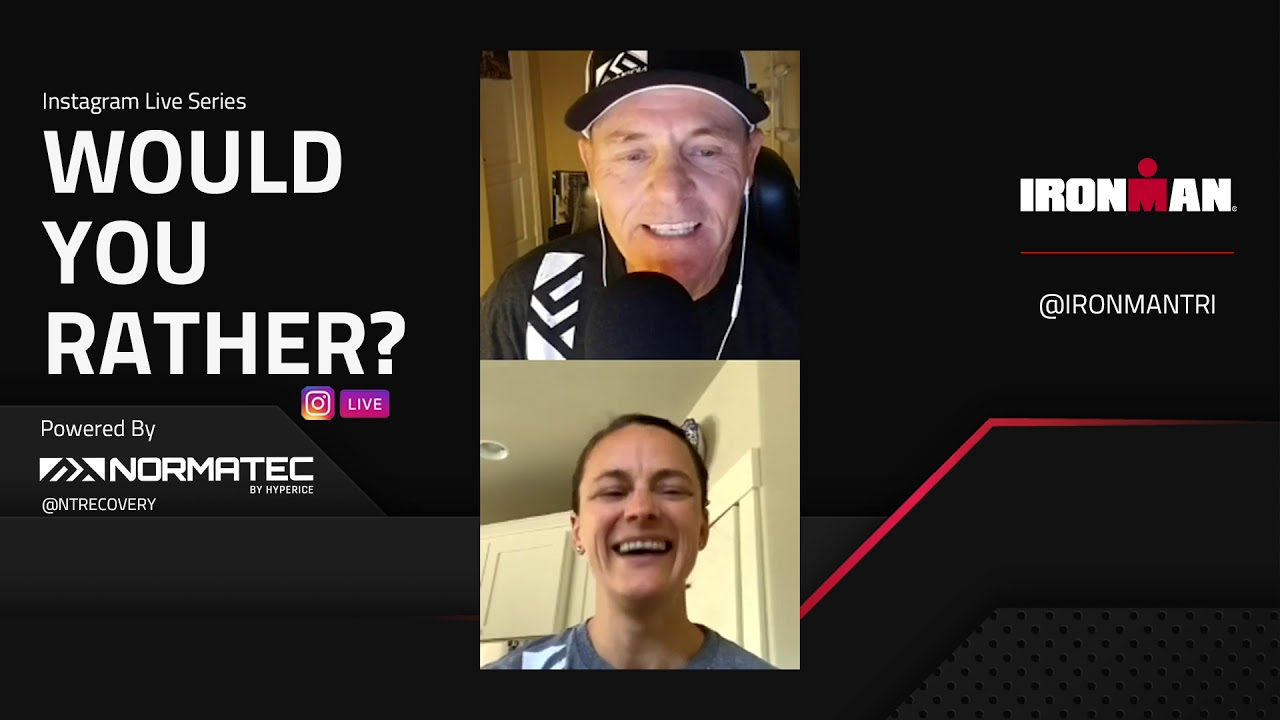 Would You Rather? - IRONMAN® style Q&A: Linsey Corbin | IRONMAN®