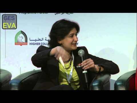 Panel: Thinking Big and Building Big Blocks for Womenpreneurs at the GES-EVA Summit in Dubai