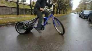 Drift tricke Дрифт на велосипеде(Дрифт на велосипеде с переделанным задним колесом для лучшего скольжения. Невероятное продолжение https://youtu...., 2014-10-27T18:30:28.000Z)