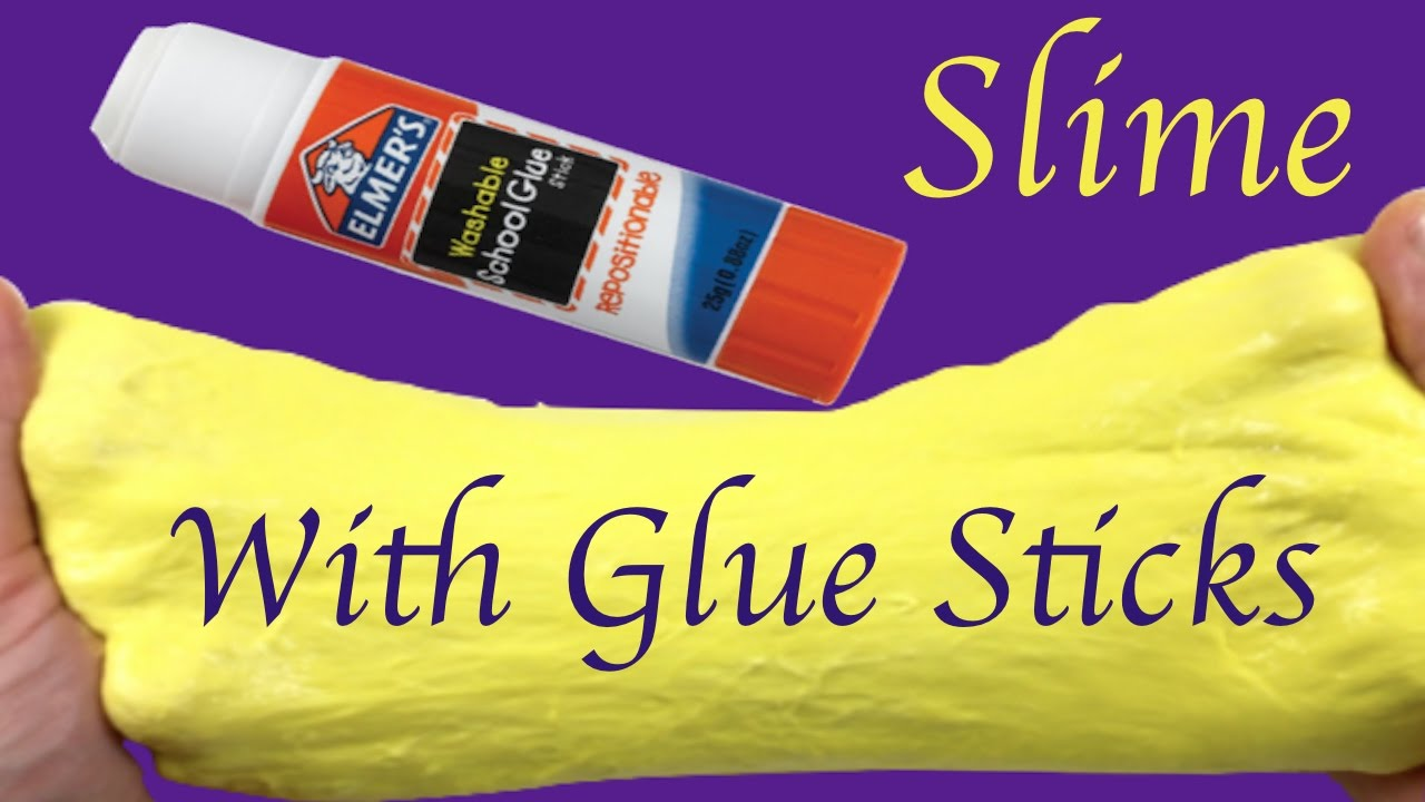Diy How To Make Fluffy Slime With Glue Sticks And Shaving Gel Without Borax,liquid  Starch Or Shampoo