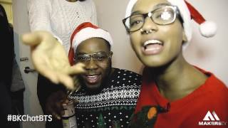 BKCHAT LDN CHRISTMAS SPECIAL [ BEHIND THE SCENES] | @MakersTVUK #BKChatBTS #BKChatLDN