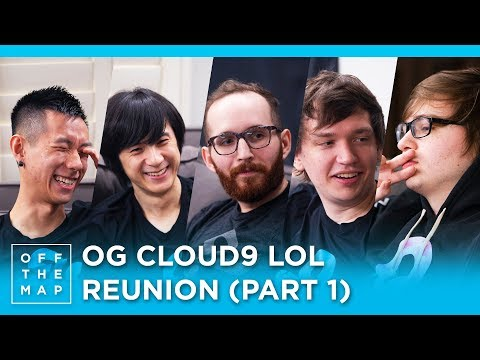 Cloud9 LoL Season 3 Reunion (Part 1) | Off the Map - HTC Esports