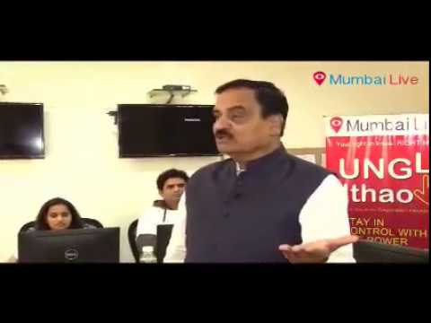 Minister of Transport in Maharashtra Interacting With Mumbailive