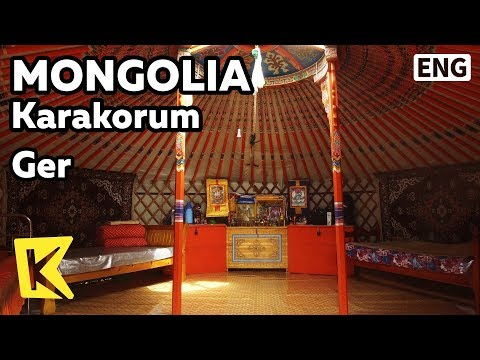 【K】Mongolia Travel-Karakorum[몽골 여행-카라코룸]시계로도 사용되는 게르/Ger/Clock/Nomad/House