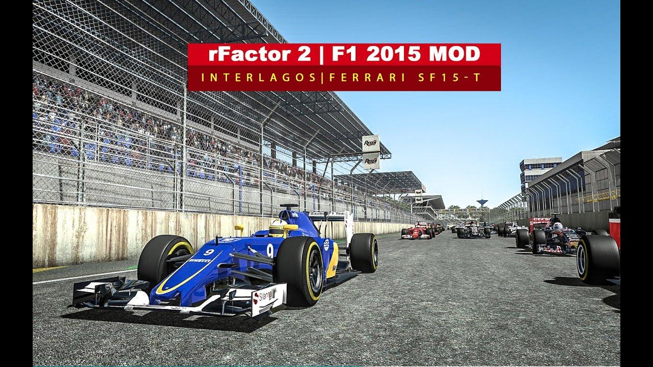 rFactor 2 | F1 2015 Mod - Full Race by Hotkey Aldog