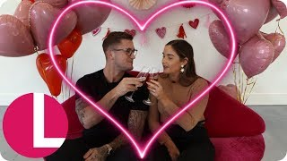 Jacqueline Jossa And Dan Osborne Reveal All About Their Marriage & Valentine's Must-haves | Lorraine