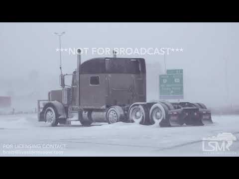 12-31-2018 Rapid City, SD - Blizzard Stranded Cars