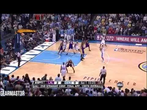 Carmelo Anthony and Chauncey Billups Full Highlights vs Lakers (2009 WCF GM3) (2009.05.23)