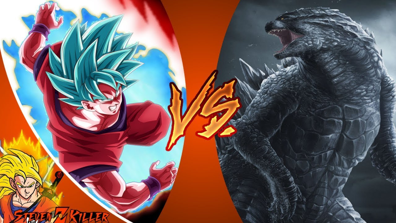 GOKU vs GODZILLA! (Dragon Ball Super vs Godzilla) Cartoon Fight Club Episode 216 REACTION ...