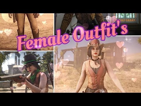 Rdr2 Online Female Outfit Ideas