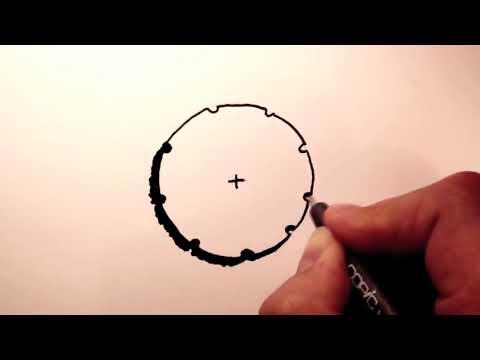 Cách diễn họa cây trên mặt bằng