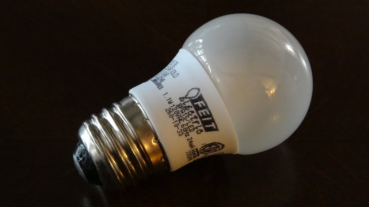 FEIT Electric A15 Accent LED Light Bulb   YouTube