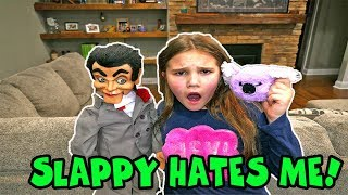 Slappy HATES Me! Slappy Valentines Day Is OVER