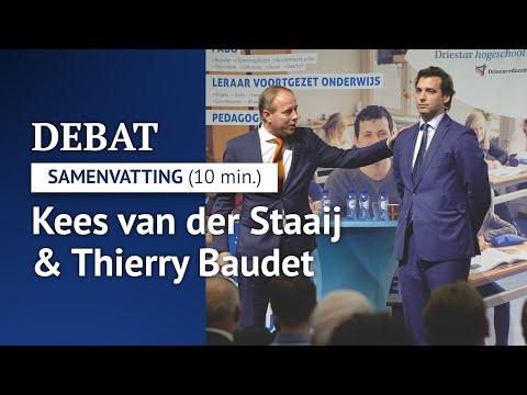 Samenvatting politiek debat Van der Staaij & Baudet (10 min.)