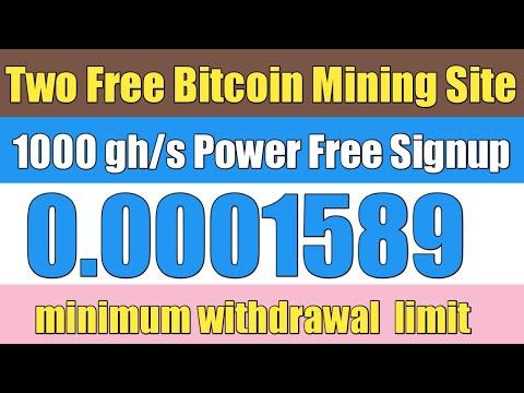 Two Free Bitcoin Mining Website 2020 | Free Cloud Mining Website 2020 | Daily Earn Btc |Ahmad Online