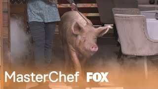 The Judges Introduce A Very Special Guest | Season 10 Ep. 19 | MASTERCHEF