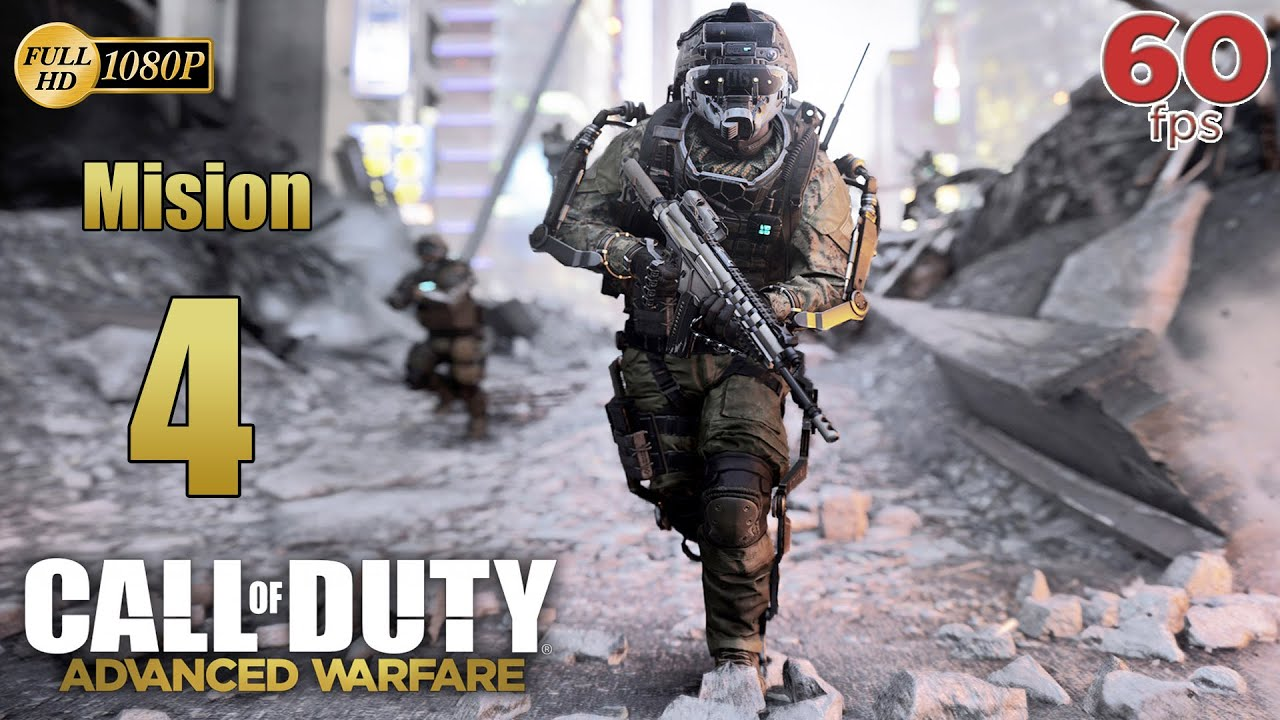 Call of Duty Advanced Warfare Mision 4 Fision - Español Campaña PC PS4 XboxOne 60 fps 1080p