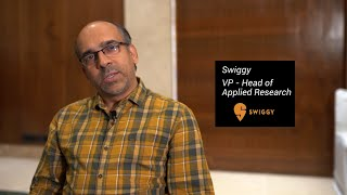 Expert opinion on Machine Learning | Vice President - Head of Applied Research at Swiggy