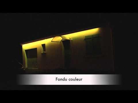 test d 39 un ruban led ext rieur youtube. Black Bedroom Furniture Sets. Home Design Ideas