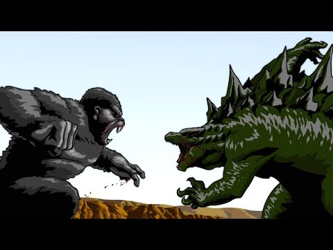 Godzilla vs. King Kong [Full Movie Made in Anticipation For the Live Action Release]