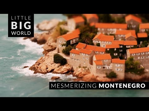 Mesmerizing Montenegro (4k - Time Lapse - Tilt Shift)