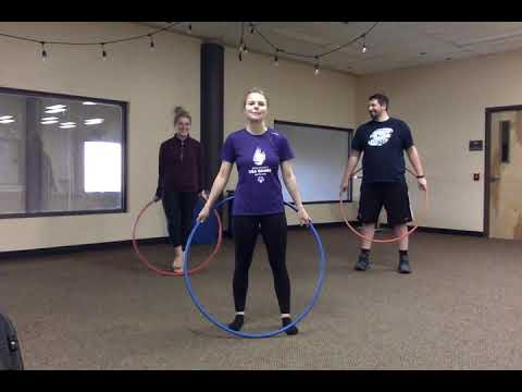 Learning to Hula Hoop   Lesson 3