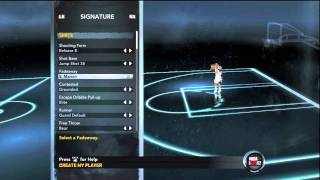NBA 2k12 My Player Ep.1 - Creation of My Point Guard