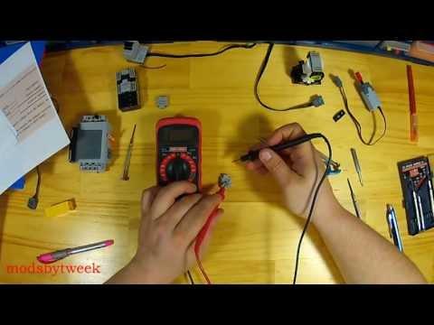 Lego 9v to IR receiver adapter