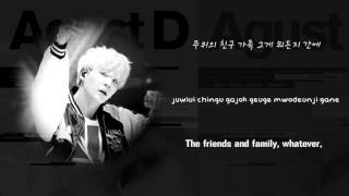 BTS Suga (AGUST D) - 140503 새벽에 (140503 at dawn) [Lyrics Han|Rom|Eng]