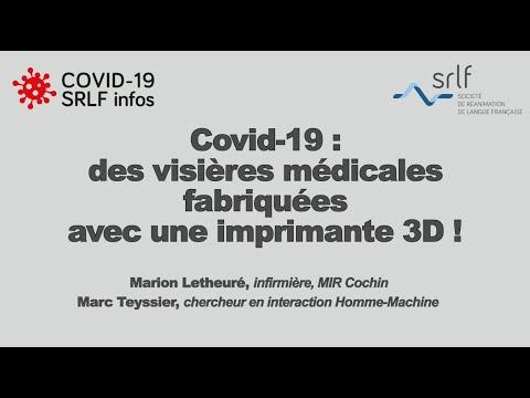 Covid-19: des visières imprimées avec une imprimante 3D !