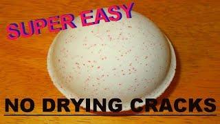 SUPER EASY BATH BOMB TUTORIAL & CRACK FREE DRYING TIPS