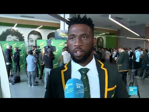 Springbok captain Kolisi carries hopes of rainbow nation at Rugby World Cup