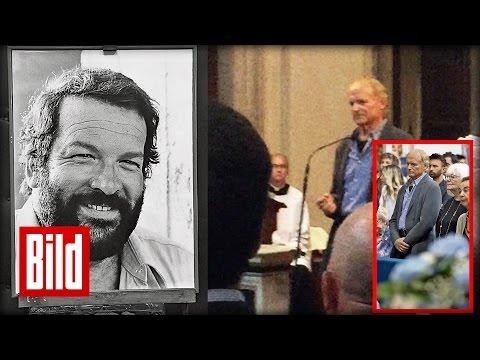 Bud Spencer: Terence Hills Rede bei der Trauerfeier - rührend (funerale)