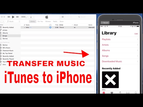 ♫ ♫ How to Transfer Music From iTunes to iPhone, iPad, iPod ♫ ♫ 2017