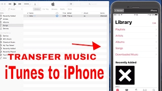 How to Transfer Music From iTunes to iPhone iPad 2019