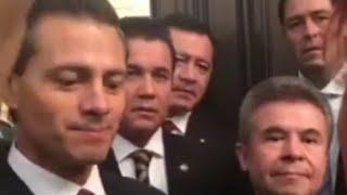 Layda Sansores le regala libro de la Casa Blanca a Peña Nieto