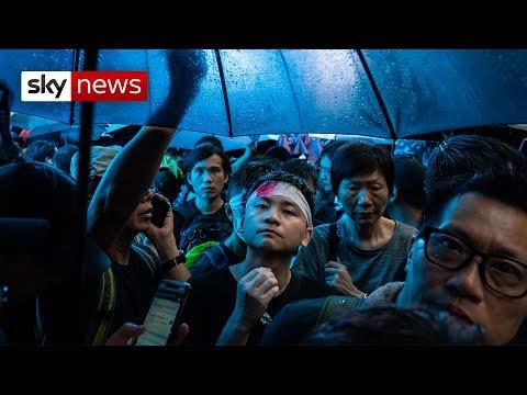 Hong Kong: March of the umbrellas